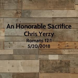 An Honorable Sacrifice