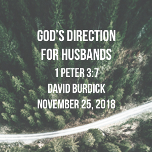 God's Direction for Husbands