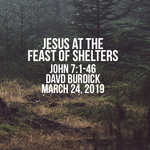 Jesus At The Feast Of Shelters