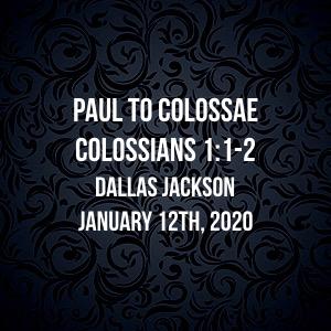 Paul to Colossae
