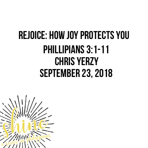 Rejoice: How Joy Protects You