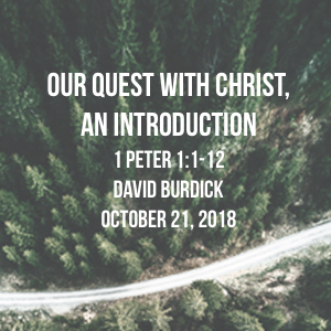 Our Quest with Christ, An Introduction