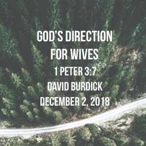 God's Direction For Wives
